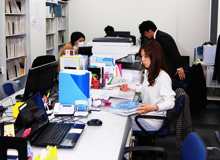 事務所の雰囲気